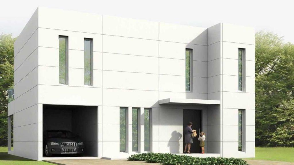 Modular casas excellent viviendas modulares distribucin for Casa moderna orlando