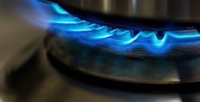 imagen gas natural en la cocina